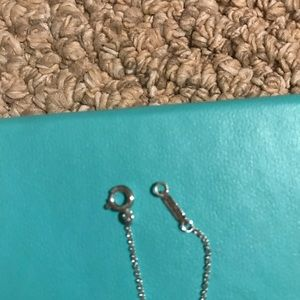 Tiffany & Co. Jewelry - Authentic Tiffany and Co. folded heart necklace